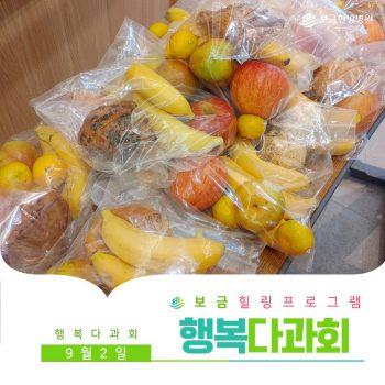 [행복다과회] 알록달록 제철 과일과 함께하는 행복다과회!